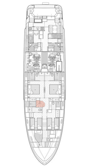MCP Yachts 92.5m Two and a Half Decks general arrangements