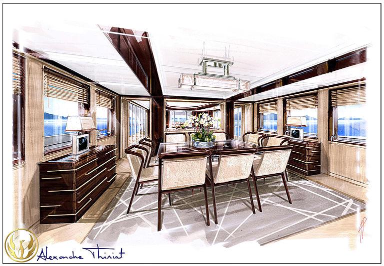 Phoenix 130 interior design