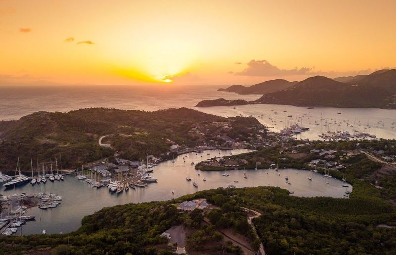 Antigua sunset RORC Caribbean 600 2018