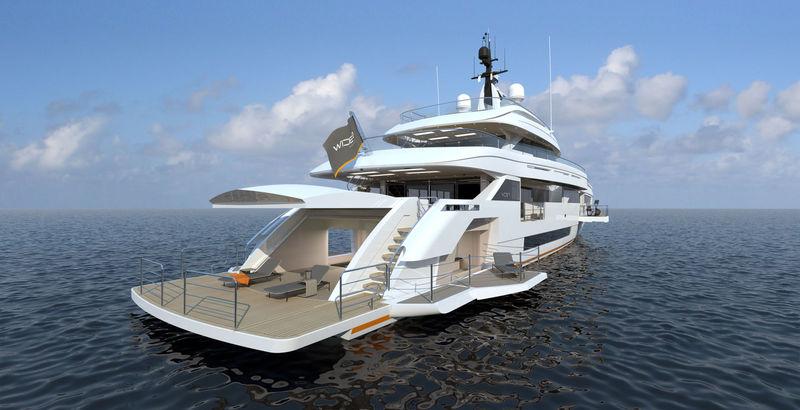 Wider 165 exterior design
