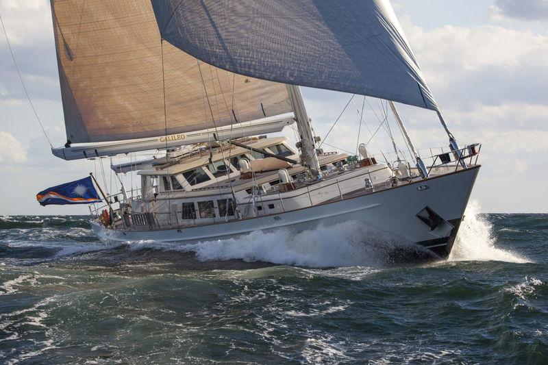 Galileo sailing