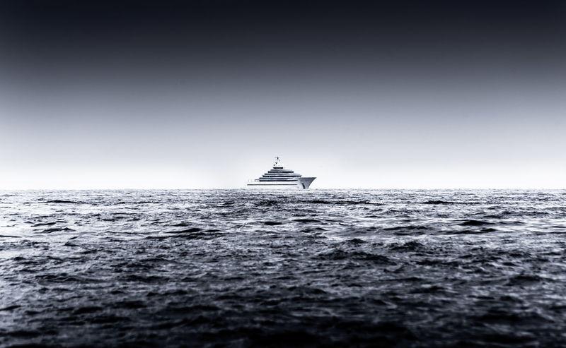 Oceanco Jubilee cruising off Monaco