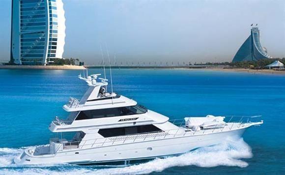 Seaquest cruising off Dubai