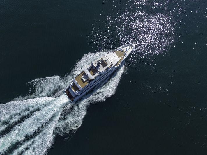 Majesty 140 on sea trials