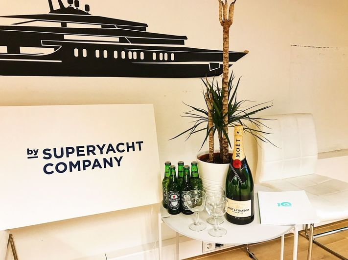 SuperYacht Company office party