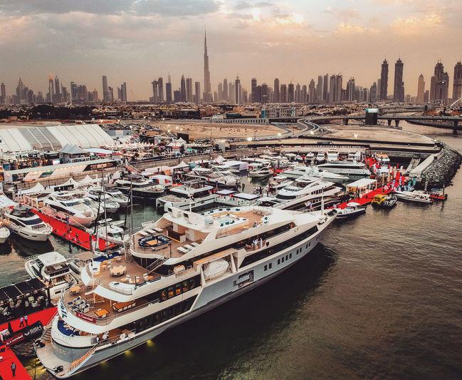 Day three at the Dubai international Yacht Show (DIBS) 2018