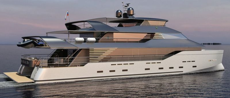 Baikal Yachts Group new 35m catamaran concept