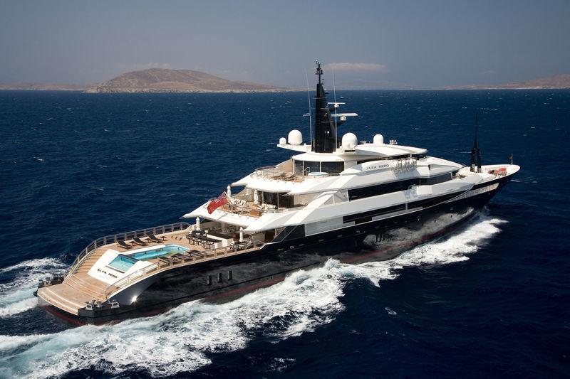ALFA NERO yacht Oceanco