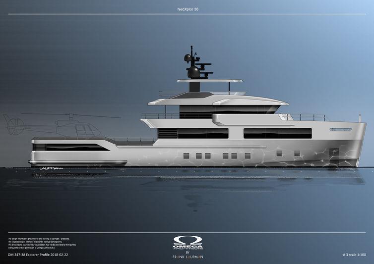 Omega NedExplor 38 Design