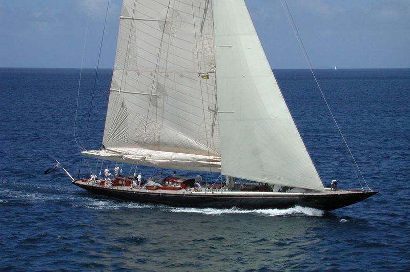 VELSHEDA yacht Camper & Nicholsons Shipyard