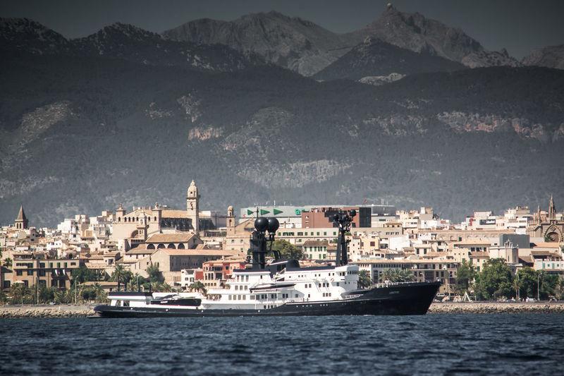 Arctic P cruising off Palma de Mallorca