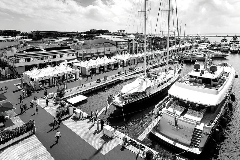 Boats at Versilia Yachting Rendezvous 2017