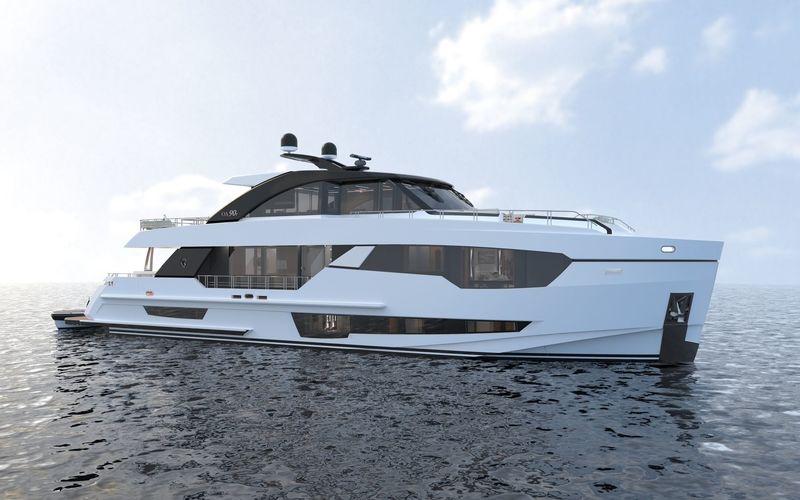 OCEAN ALEXANDER 90R02 yacht Ocean Alexander