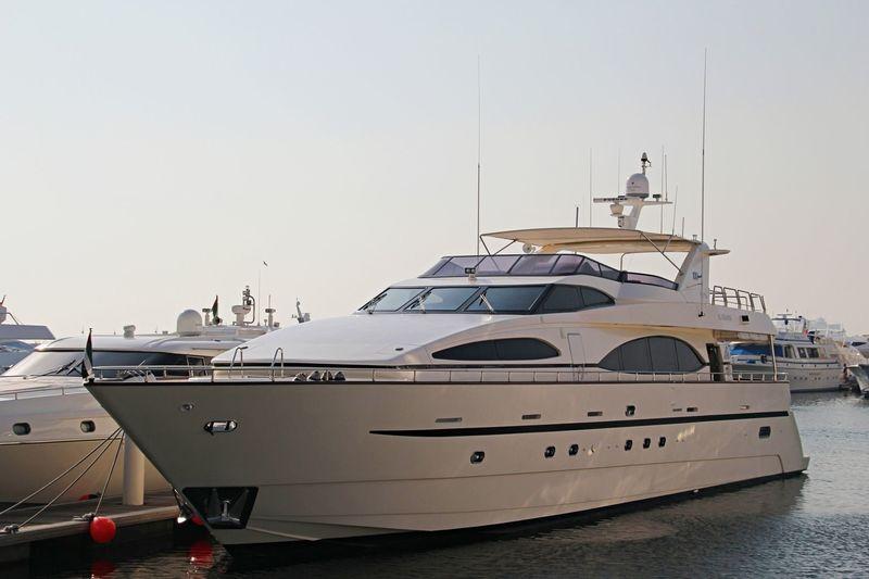 AL GHANDI yacht Azimut