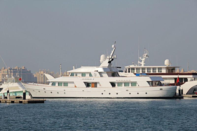MASHALLAH yacht Toughs Shipyard