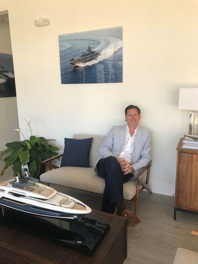 Baglietto and CCN Sales Manager Americas, Grant Colin Henderson