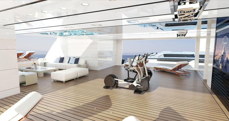 Turquoise 74m Valicelli interior design