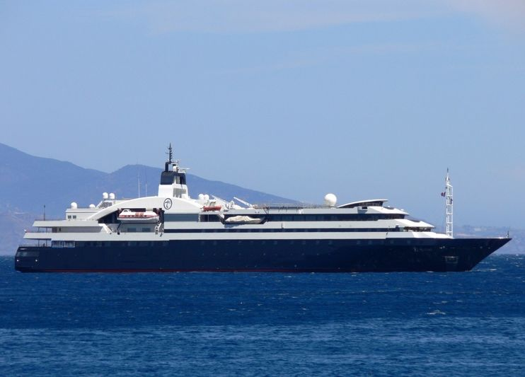 TURAMA yacht Rauma Shipyard
