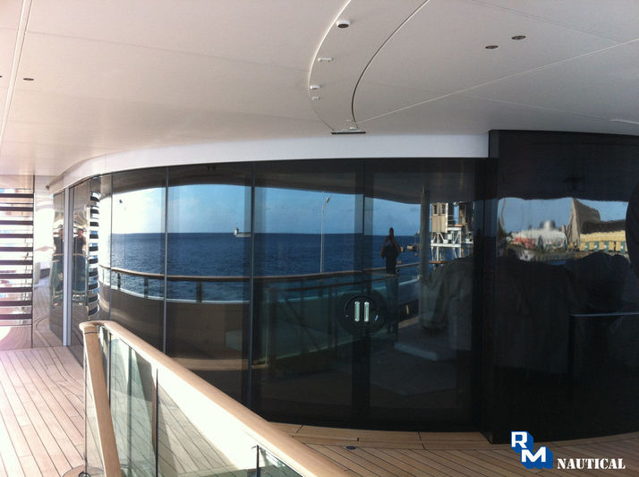 RM Nautical linked sliding doors