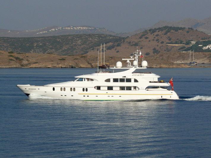 Pestifer cruising in Turkey