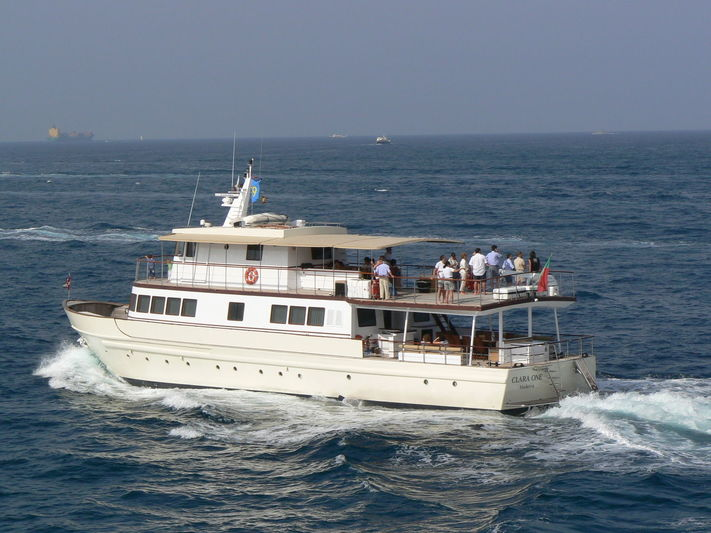 CLARA ONE yacht Sarri