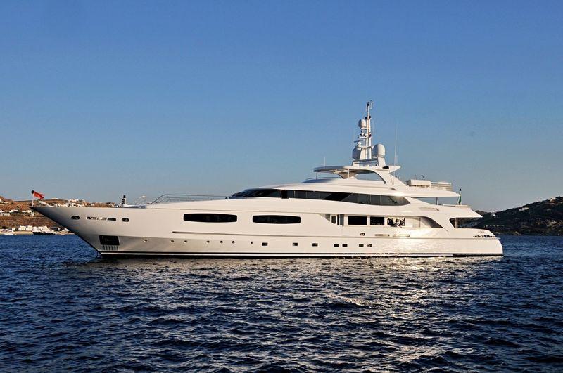 BLANCA yacht Baglietto