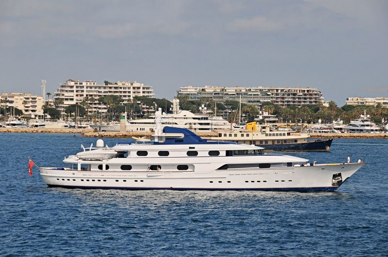 Cleopatra C off Cannes
