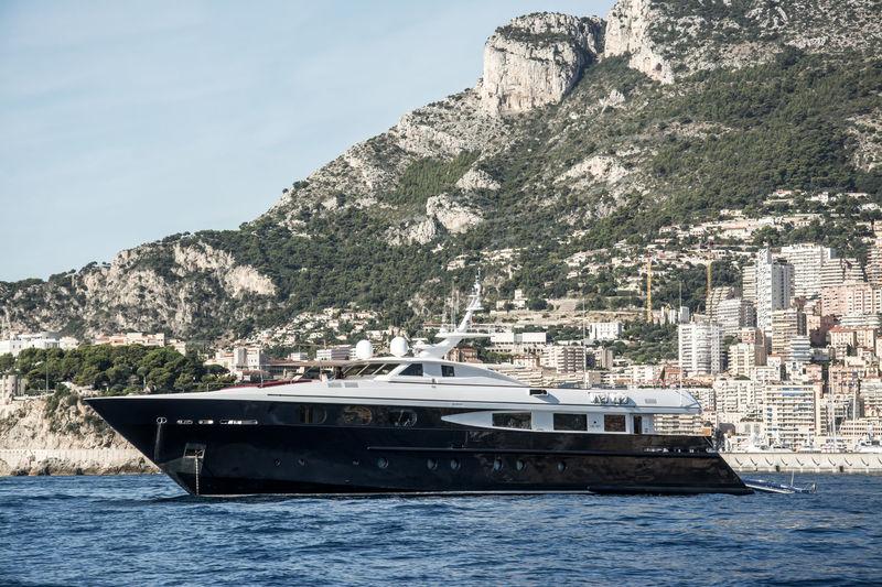 Sophia Blue anchored off Monaco