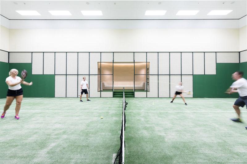 Aviva padel tennis court