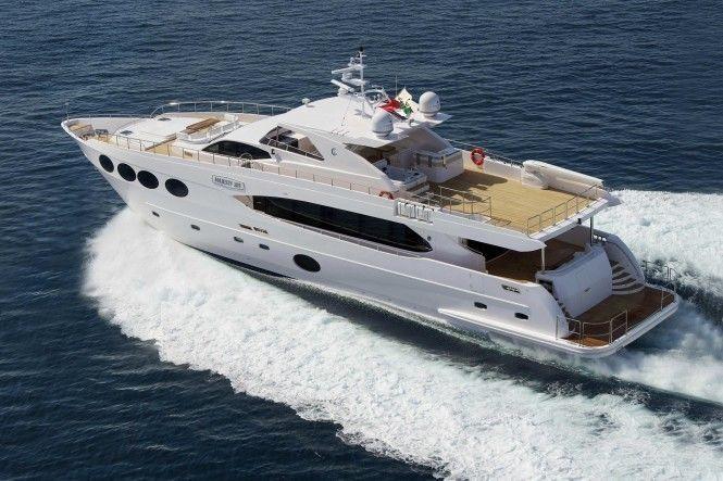 DIAM yacht Gulf Craft