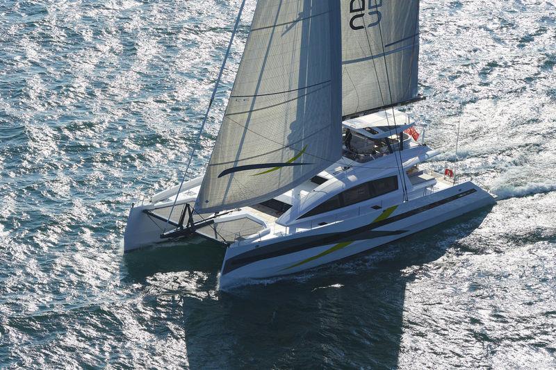 Long Island 85 sailing