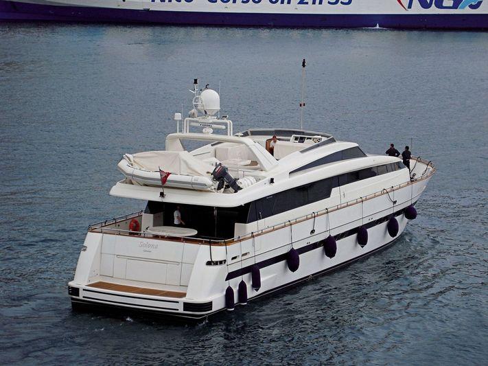 SOLONA yacht Sanlorenzo
