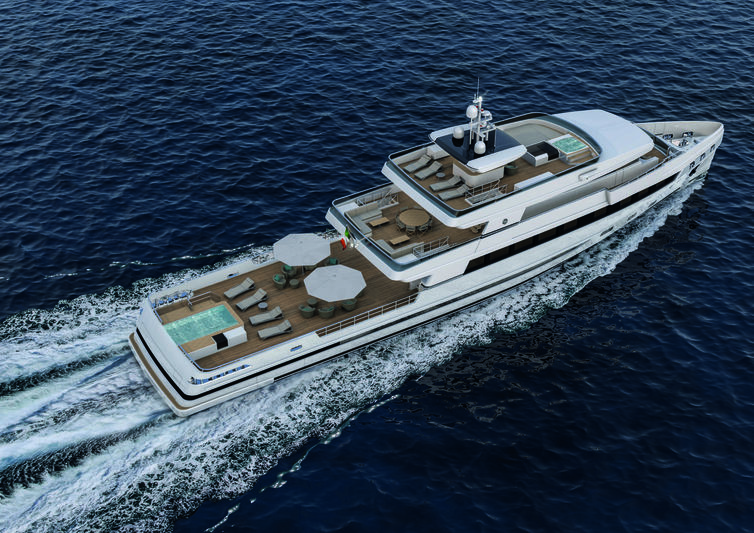 Rosetti 48m exterior design
