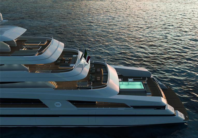 Rosetti 85m exterior design