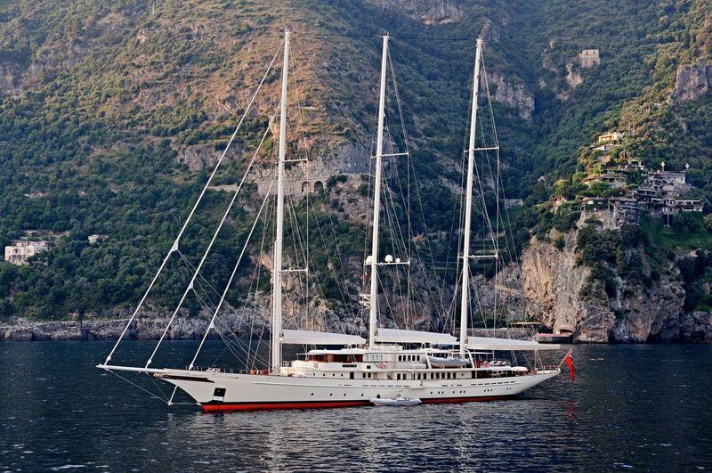 Athena anchored