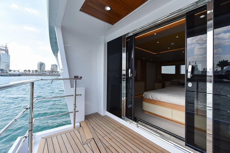 Nashwan owner's private balcony