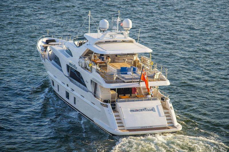 Princeville cruising off Miami