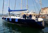 Magic Blue Yacht Sailing yacht