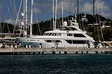 Axioma in Antigua Yacht Club marina
