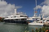 Excellence III in Port Gustavia