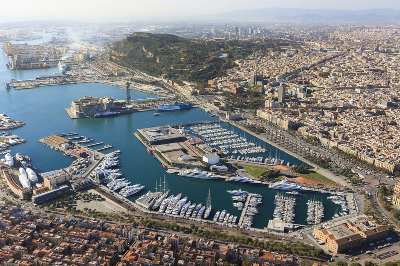 OneOcean Port Vell aerial