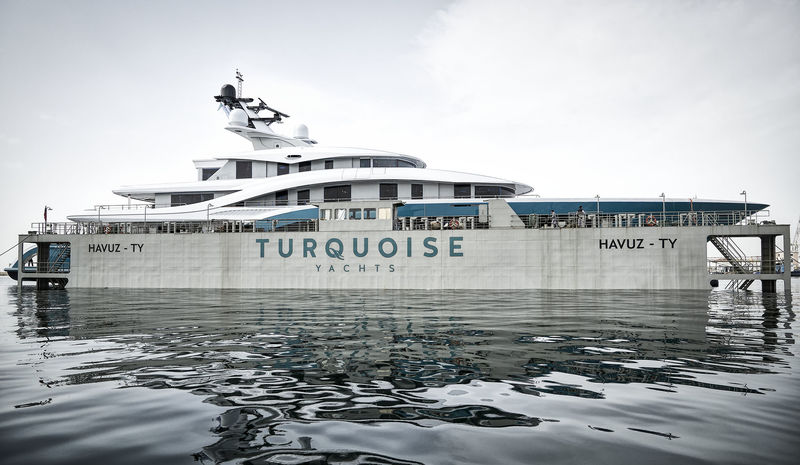 Go launch at Turquoise Yachts in Pendik