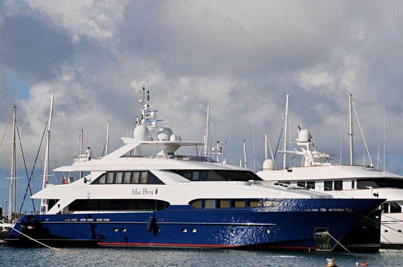 MAC BREW yacht Heesen