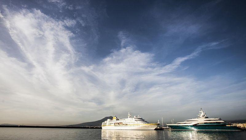 Sunrays at Stabia Main Port