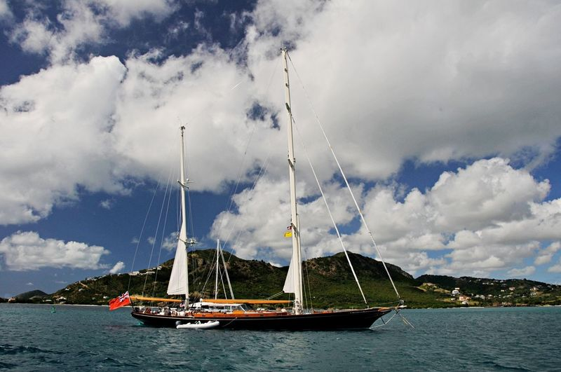 Signe in the Caribbean