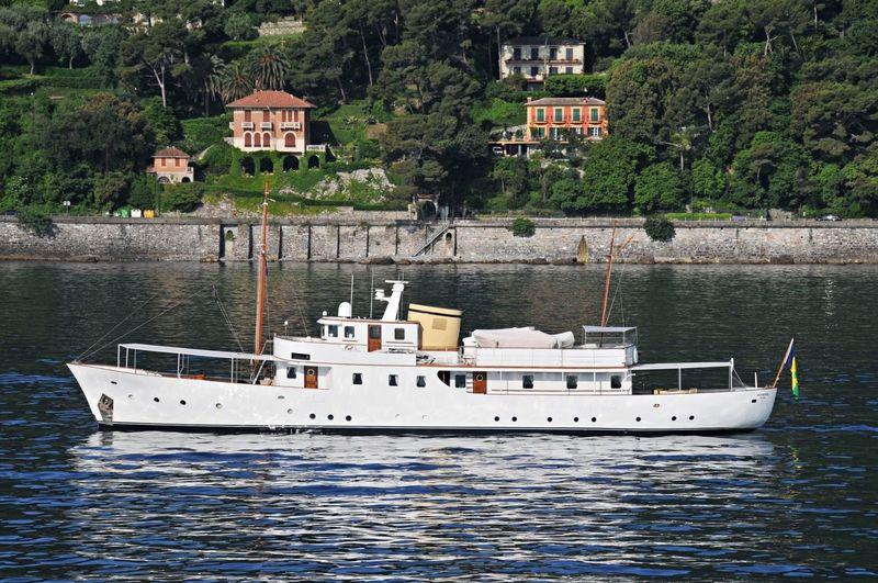 DEIANEIRA yacht Vosper Thornycroft