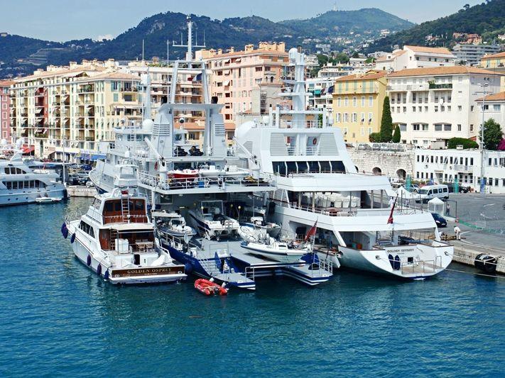 Golden Odyssey fleet in Nice
