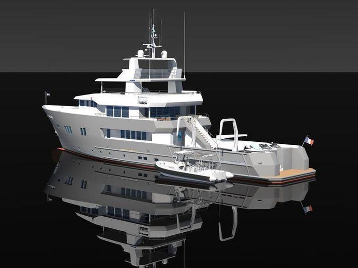 Ocea 125Ex explorer renderings