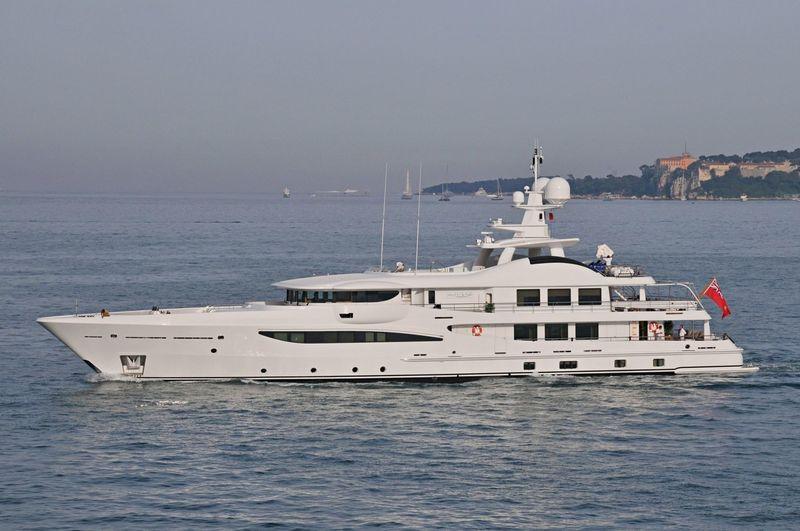 LA MIRAGE yacht Amels