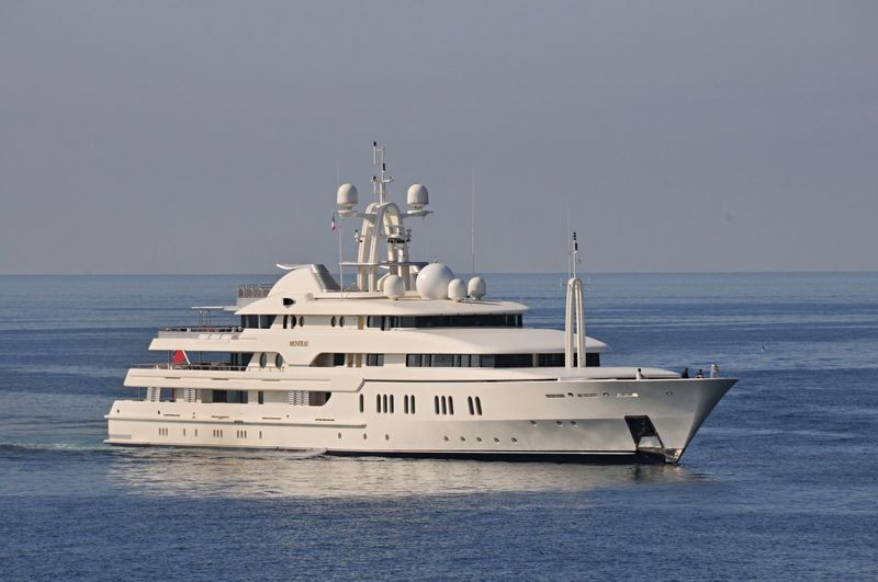 MONTKAJ yacht Amels